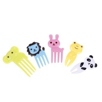 Leegoal hewan pilihan makanan dan indah pilihan buah garpu Bento dekorasi ruangan kotak makan aksesoris pesta