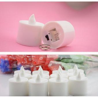 Lilin Elektrik 7 Warna /Colorful LED CANDLE LAMPU MINI (dapat 6pcs) - 4