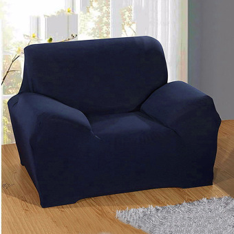 Detail Produk Loveseat Arm Chair Seater Stretch Sofa Couch Lounge Protect SlipCover Slipcover - intl