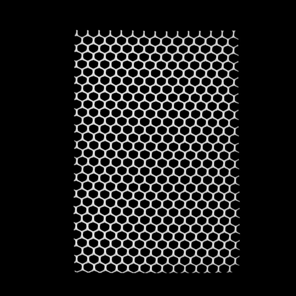 Lubang Persegi Plastik Anjing Peliharaan Desain Kandang KelinciPiring Tatakan 48 cm x 35 cm