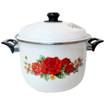 Maspion Panci Stock Pot Enamel 26cm