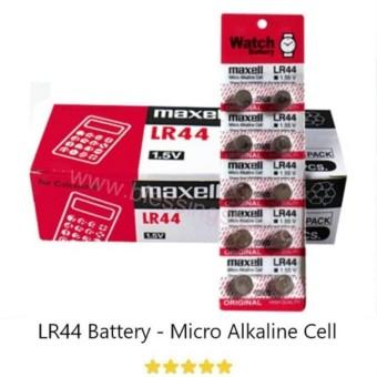 maxell original battery LR 44