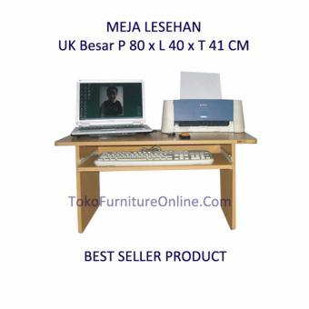 Universal Ergonomis Meja Laptop Portable Kayu Lipat LesehanMultifungsi - Coklat, 190.332, Update. Meja
