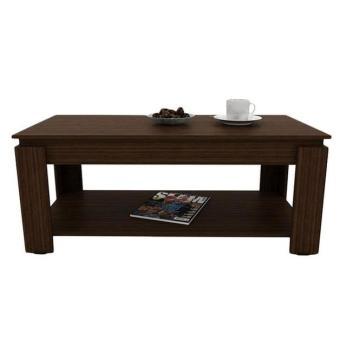 MEJA TAMU VLCT100 MW Vivo Coffee Table with Rak - Coklat Tua PROMO TERLARIS