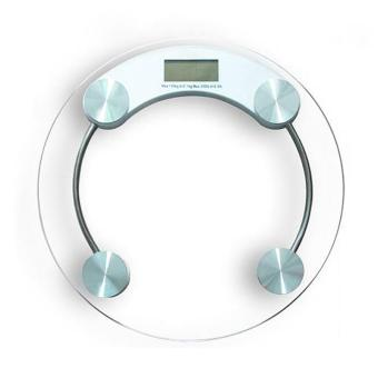 Modern & Sleek Personal Digital Bathroom Scale Digital LCD Electronic Glass Scales( Weighing Scale) - intl