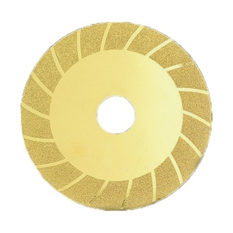 Moonar 1pc 4 Inch 100mm Diamond Saw Blade Abrasive Disc Glass Ceramic Cutting Wheel for Angle