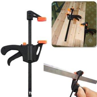 Moonar 4 inch Plastic Hard Grip Tool Quick Release Woodworking Clamp - intl