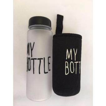My Bottle DOFF Botol Minum 500ml - HITAM plus POUCH · >>>>