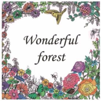My Craft ST 7780 Adult Colouring Book Wonderful Forest