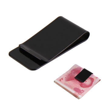 ... Leather Business Credit Card Case Id Source · Detail Gambar New Stainless Steel Black Slim Pocket Purse Money Clip Holder 1PCS dan Variasi Modelnya