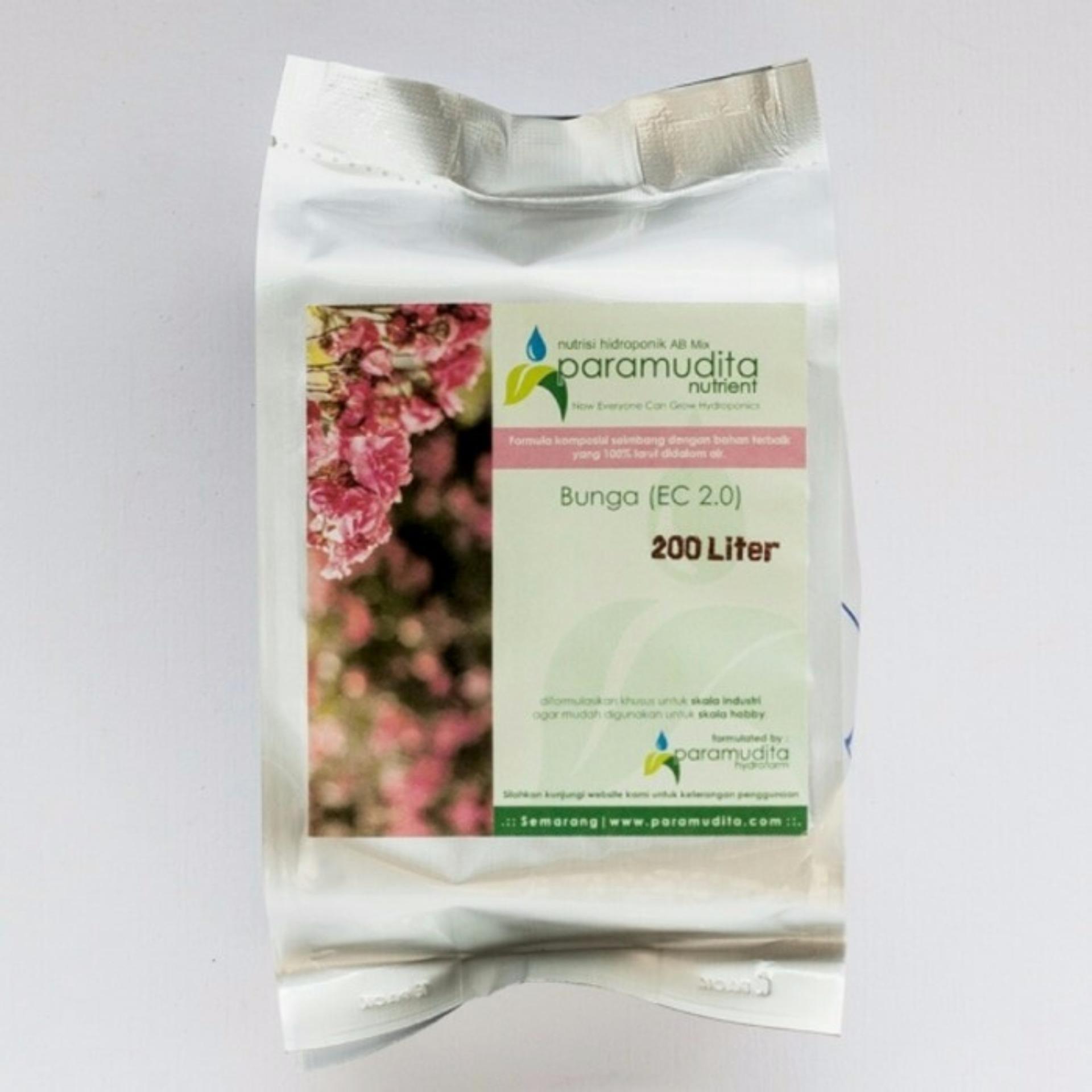 Hot Deals Nutrisi Hidroponik AB Mix untuk Bunga 1 liter terbaik murah - Hanya Rp27.