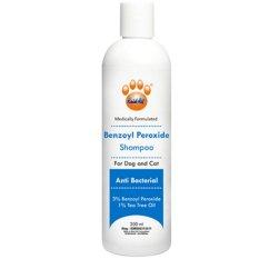 Obat Hewan Shampoo Benzoyl Peroxide Anti Bakteri untuk Anjing