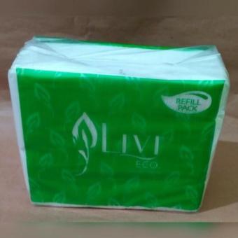 Original Tisu Tissue Livi Eco Facial Refil Pack 600 Sheet 2 Ply
