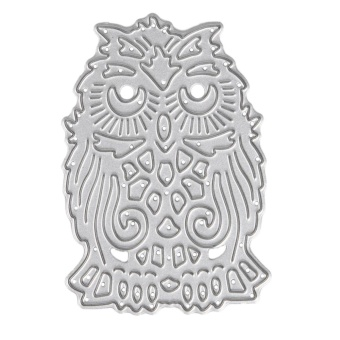 Owl Design Metal Die Cutting Dies For DIY Scrapbooking Embossing - intl