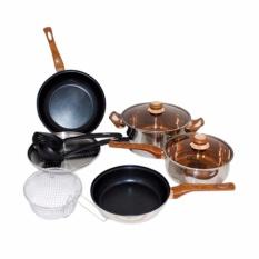 Panci Basic Cookware Set Oxone OX-911