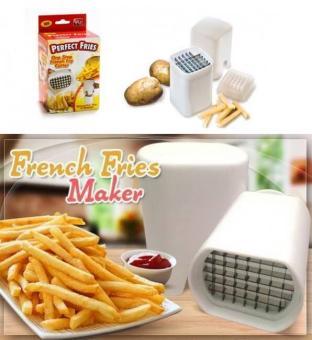 Perfect Fries Pisau Pemotong Kentang, Buah, Dan Sayuran