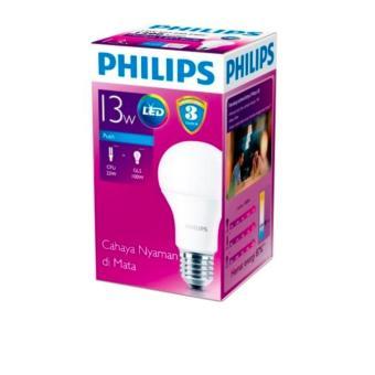 Philips Led Bulb 4w P45 Putih 8 Buah Daftar Harga Terlengkap Indonesia Source · Philips Lampu LED Bulb 13 Watt E27 6500K 230V Putih 2 buah 2