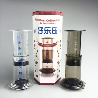 Portable Coffee Maker French Press Espresso Machine Reusable Coffee Filter New - intl