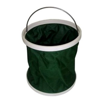 Portable Ember Lipat Foldable Bucket with Bag - Hijau