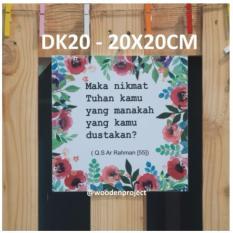 Wall decor Hiasan dinding pajangan Poster bingkai foto - BJ22IDR20000. Rp 20.000