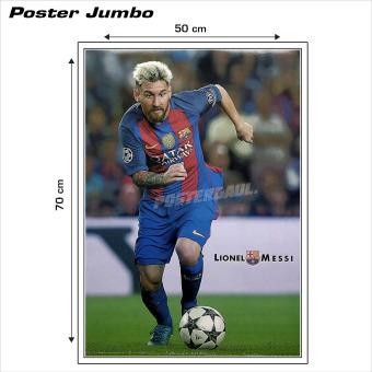 Poster jumbo: Lionel Messi #RJ77 - 50 x 70 cm