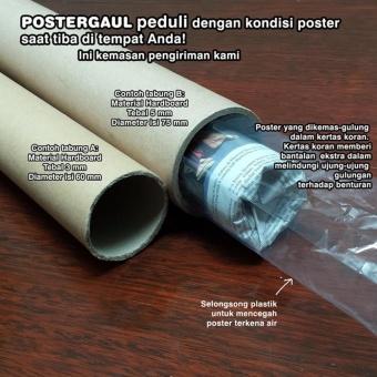 Detail Gambar Poster Jumbo: LOGO JUVENTUS #FCL45 - 50 x 70 cm Terbaru