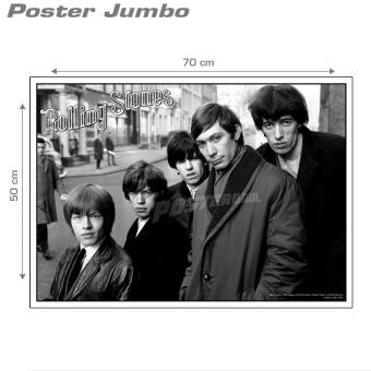 Poster Jumbo: The Rolling Stones #ROS12 - 50 X 70 cm