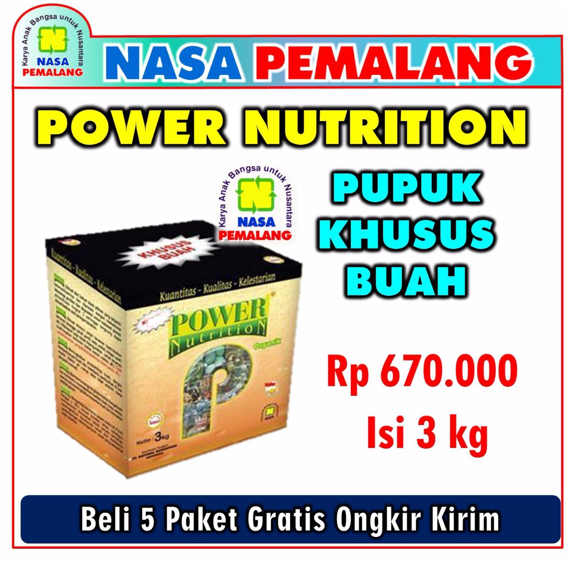 Pencari Harga Power Nutrition Pupuk Organik Khusus Buah Kemasan 3 Kg - Nasa Pemalang lowest price