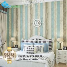 (PREMIUM QUALITY) LUX 5-75 PRB Luxurious Wallpaper Sticker - Kayu