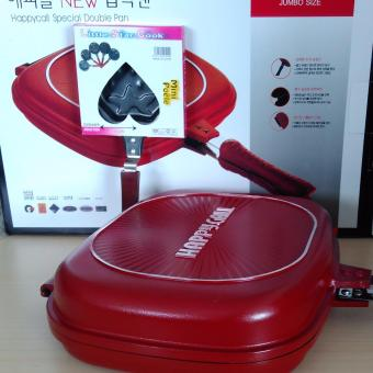 Promo Happy cook spesial double pan 32 cm gratis 1 teflon mini