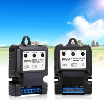 PWM 12 V Panel Surya Baterai Regulator Charge Controller LED Indikasi Charger-Intl