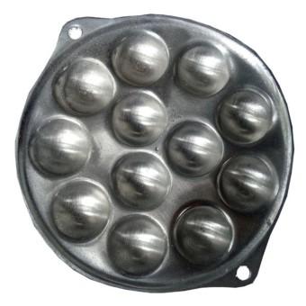 Quinn TS alumunium cetakan telur puyuh isi 12