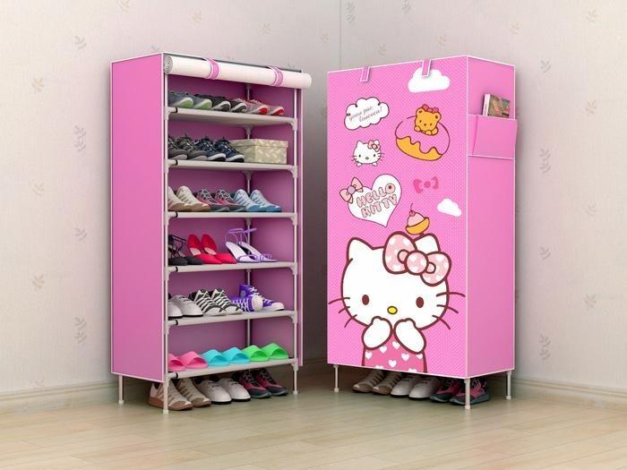 gantung sleting / hanging shoes organizer (HSO) / hanger sepatu.