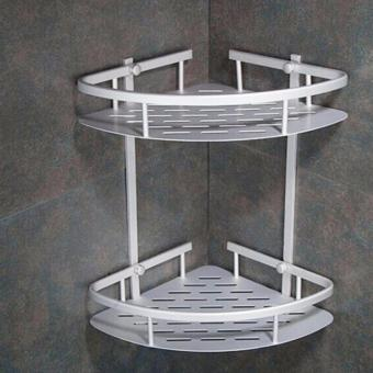 Universal Rak Toilet Dinding Aluminium Daftar Update Harga Terbaru Source · Rak Dinding Sudut Kamar mandi