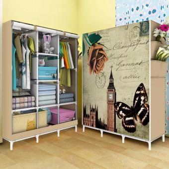 harga Rak Pakaian Plastik Furniture Murah Lemari Baju Gantung Lemari Handuk Lemari Sprei Handuk Tas London 3 Kolom Lazada.co.id