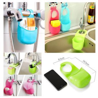 harga Rak Tempat Sabun/Busa Cuci Piring Gantung kamar mandi/dapur HL-11 -Green Lazada.co.id