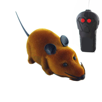 Remote Control Rat Mouse Toy For Cat CAT dog PET pet Novelty GiftFunny Gray- 638467c441