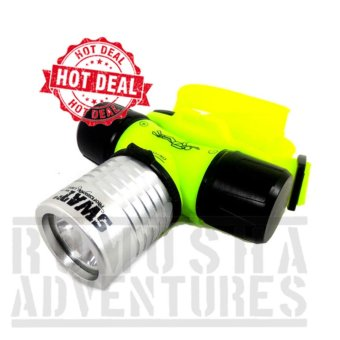 Romusha Senter Kepala Selam / Headlamp diving Led cree Q5