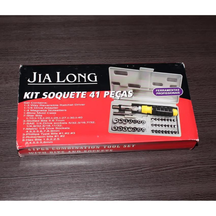 Ronaco Kunci Socket Wrench Pas Kunci Sok 41 PC Kunci Obeng Kunci Sock .