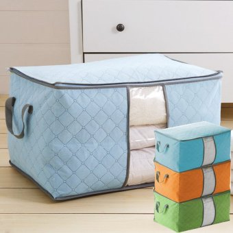 Harga Sakura Storage Bag Organizer Model Lebar - Biru