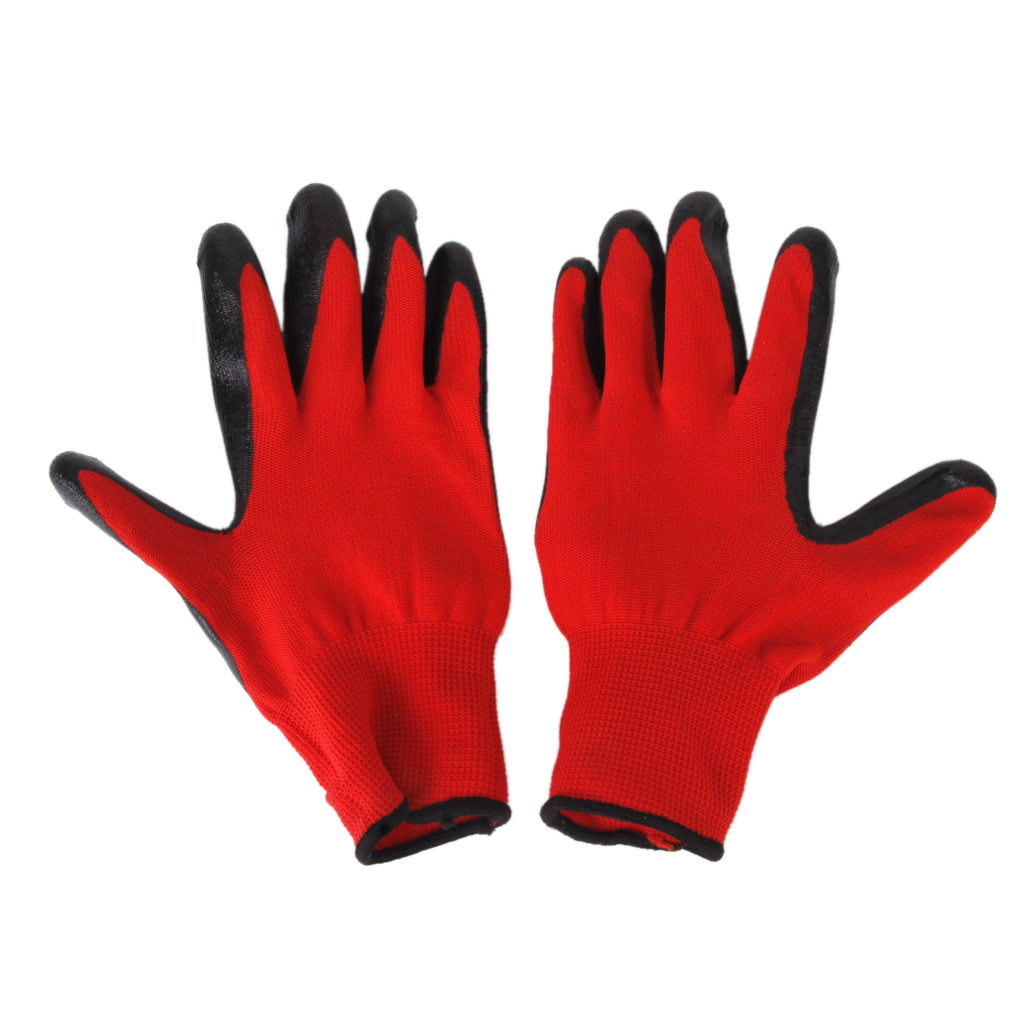 Sarung tangan pelindung gigitan-bukti mencegah untuk gigitan tupaihitam dan merah