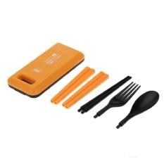 Sumpit Travel Camping Source · Sendok Travel Set Peralatan Makan Portable Box Of .
