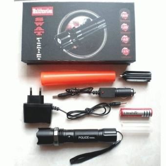 Senter Multifungsi POLICE / SWAT Flashlight