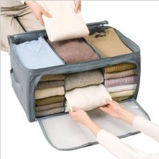 Sien Colletion 3 Window Storage Bag Cloth Organizer Box - Tempat Pakaian Baju Celana