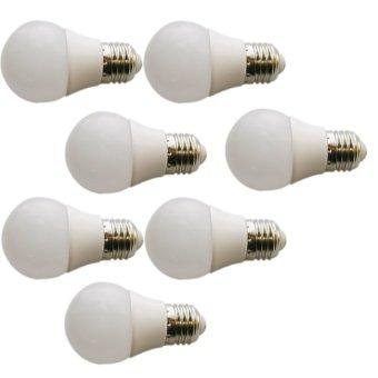 Sip Lite Cahaya Terang Bohlam Lampu Led Globe 50Mm S - 3 Watt Putih X 7