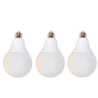 EELIC Siplite Cahaya Terang Bohlam Lampu Led Globe 90Mm S-12 Watt Putih X 3