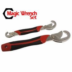 Snap n Grip Magic Wrench Set 2pcs Kunci Pas Kunci Inggris