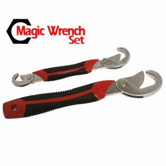 Snap n Grip Magic Wrench Set 2pcs Kunci Pas Kunci Inggris