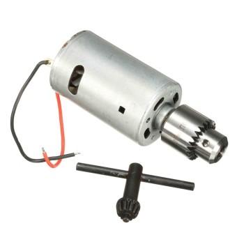 Solid DIY Bor Listrik Bor Tangan 555 6 V-12 V DC Motor Torsi Tinggi