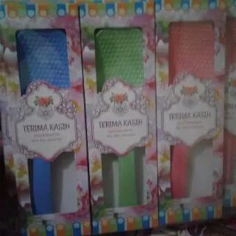 Souvenir Pernikahan Centong Warna Plus Box Mika Isi 100 Pcs